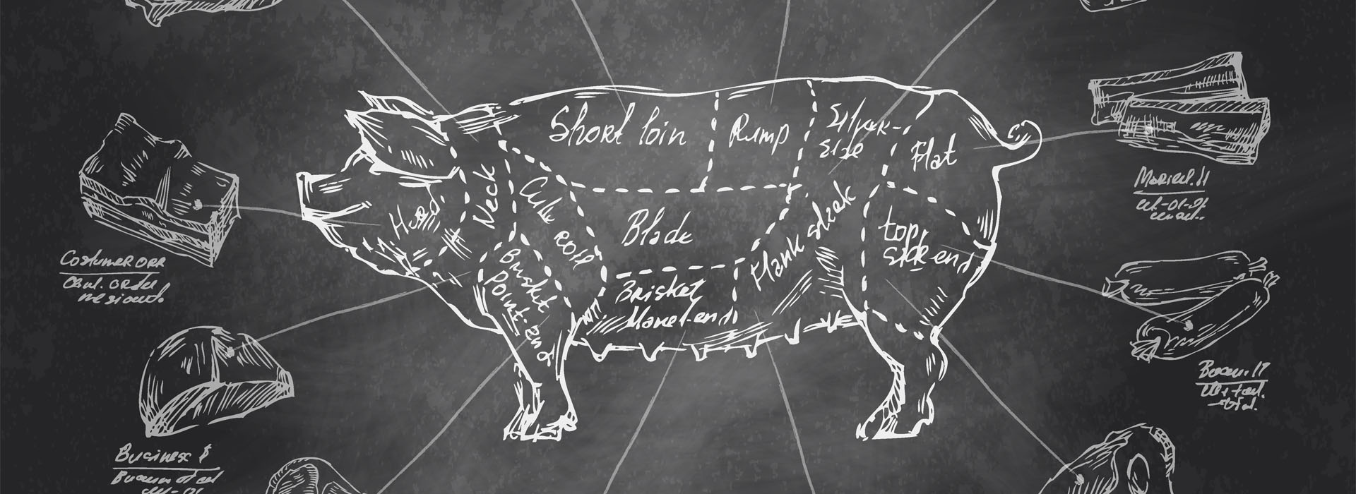 Bravčové mäso, bravčová panenka, bravčové plece, bravčové stehno, bravčová pečeň